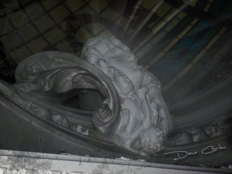 Cherub Head - Bolt Castle 2012